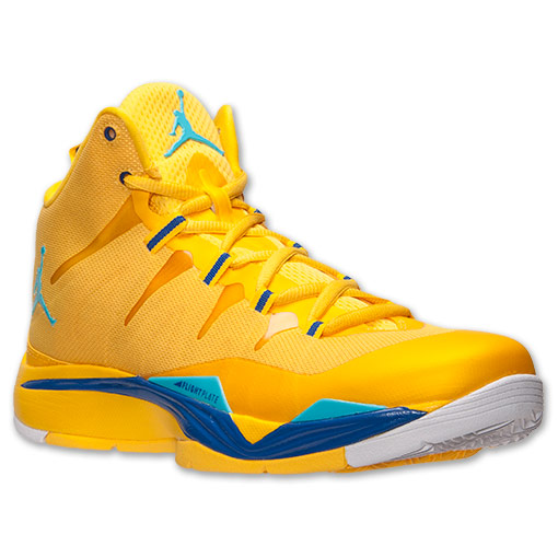 Jordan Super.Fly 2 Varsity Maize Gamma Blue Available Now 1