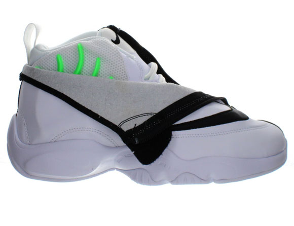 Nike Air Zoom Flight The Glove White/ Black - Poison Green ...