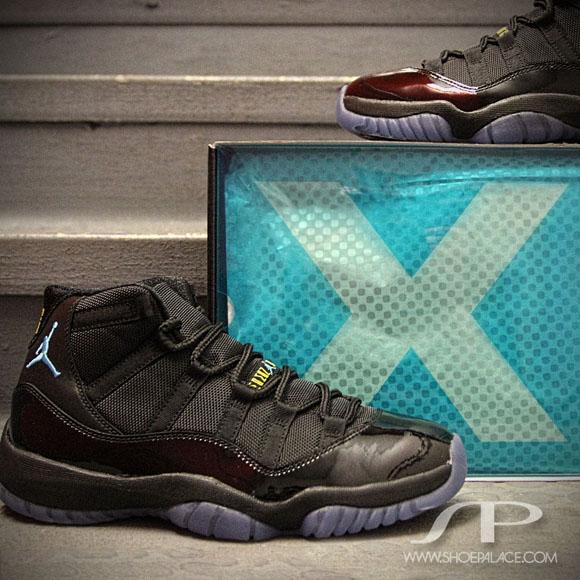 buy online c37df 001c7 Air Jordan 11 Retro 'Gamma Blue' - Detailed Look - WearTesters