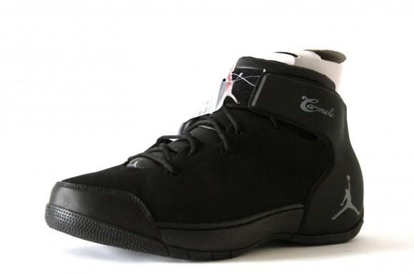 Jordan Melo 1.5 Retro Black Silver - Detailed Images 2