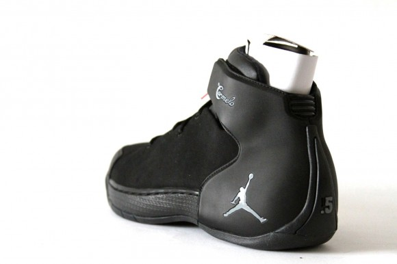 20144a4d3a031e ... blue Jordan Melo 1.5 Retro Black Silver - Detailed Images 3 ...