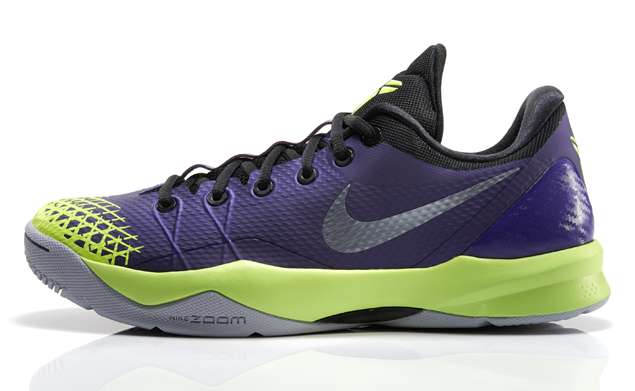 Nike Zoom Kobe Venomenon 4 Court Purple Wolf Grey - Volt 2