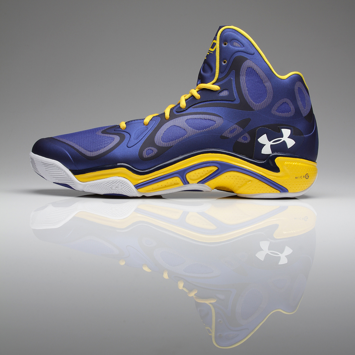 STEPHEN CURRY Golden State Warriors SIGNED Under Armour
