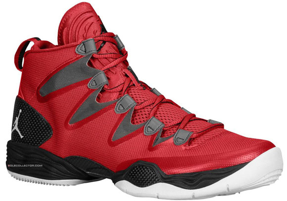 Air Jordan XX8 SE Gym Red White - Wolf Grey  1