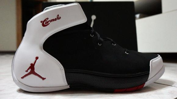 Jordan Melo 1.5 Black/ White - Red