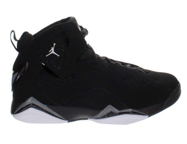 air jordan true flight black white cool grey