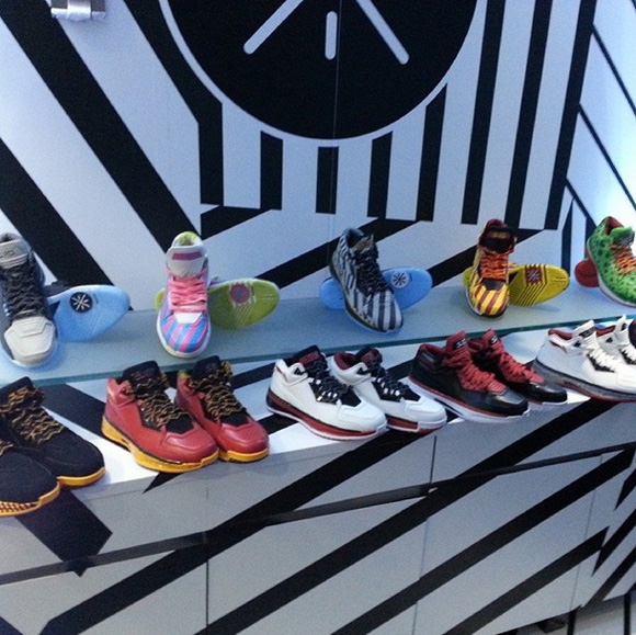 New Li-Ning Way of Wade 2.0 Colorways Unveiled at Wade's 'Rock the Boat' Birthday Bash 1