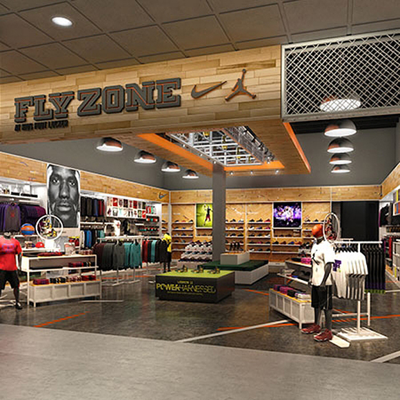 Nike Fly Zone at Kids Foot Locker Opens at King of Prussia Mall