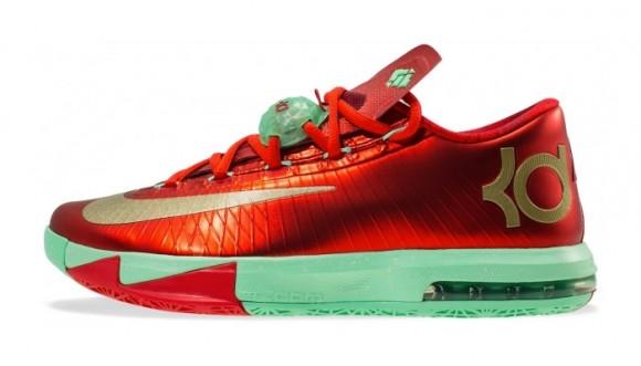 Nike KD VI 'Christmas' - Restock @Shoe_Palace