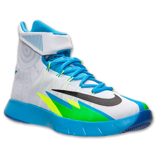 Nike Zoom HyperRev White/ Black/ Vivid Blue - Game Royal ...