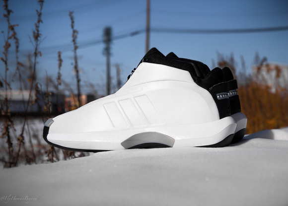 adidas Crazy 1 White Black - Detailed Look + Release Info 2