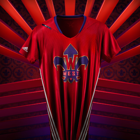 adidas and NBA Unveil NBA All-Star 2014 Uniforms 3