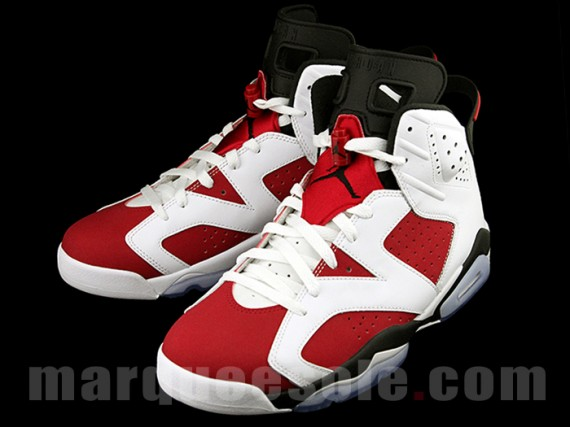 competitive price 1ff68 9bd8e Air Jordan 6 'Carmine' - Release Info and Detailed Look ...