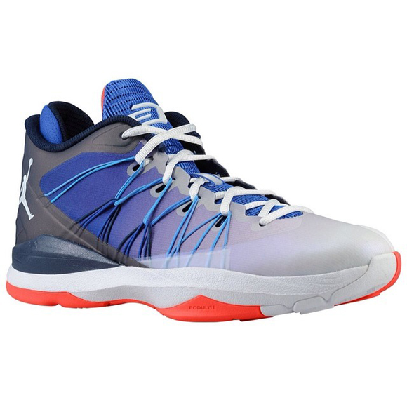 Jordan CP3.VII AE White Blue - Orange
