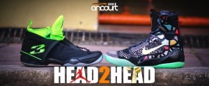 Head 2 Head: Air Jordan XX8 vs Nike Kobe IX Elite