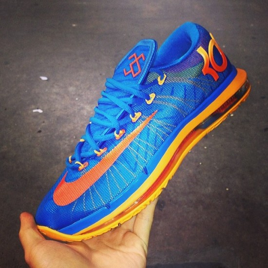 official photos fe007 2dd32 Nike Kd Elite Blue And Orange