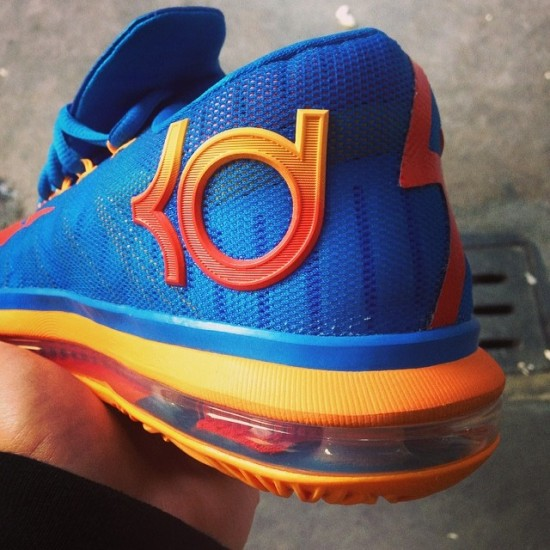 Nike KD 6 Elite – BlueOrange4