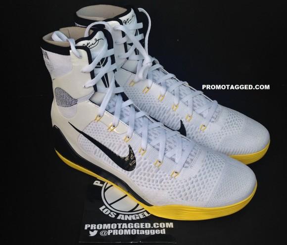 Nike Kobe 9 Elite PE White: Del Sol 1