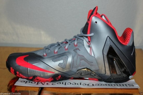 half off 6b7b8 d1db5 nike lebron xi elite team wolf grey crimson