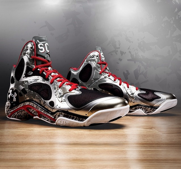 two new under armour anatomix spawn stephen curry pe