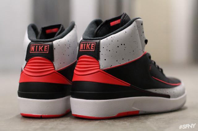 Air Jordan 2 Infrared Cement Size 13