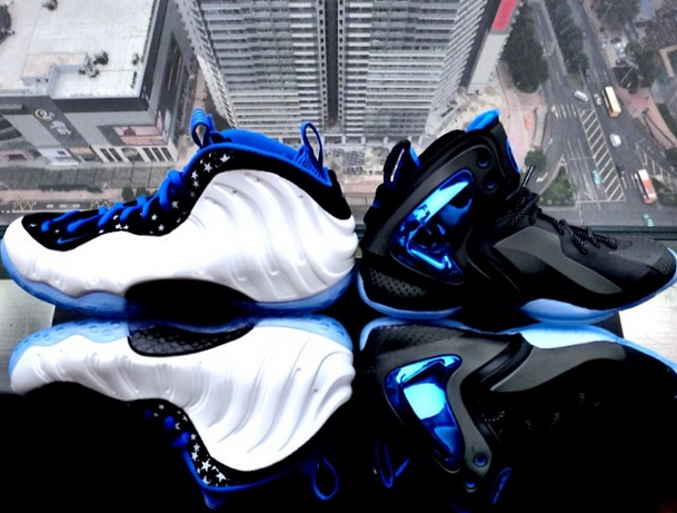 promo code 8a635 bf442 Nike Lil' Penny Posite 'Orlando/ Shooting Stars' - Detailed Look + ...