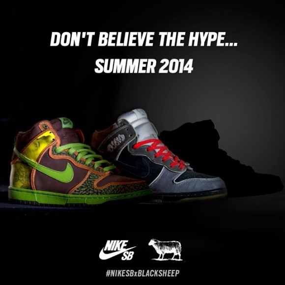 black sheep skate shop teases nike dunk sb collab 1