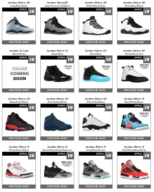 competitive price beb27 b99ab Eastbay Restock 4/19/14 - WearTesters