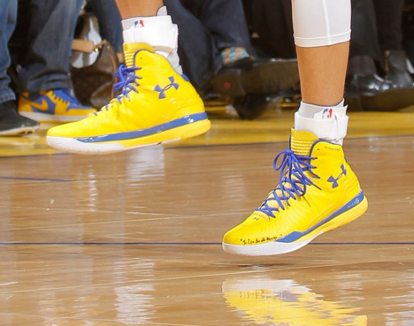 new under armour sneaker worn by stephen curry weartesters