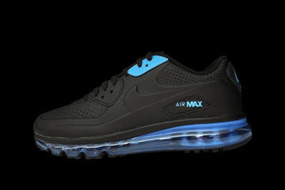 nike air max 90 laser blue retro 2010