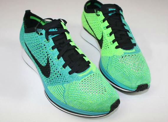 Nike Flyknit Racer Turquoise:Lucid Green 1 ...