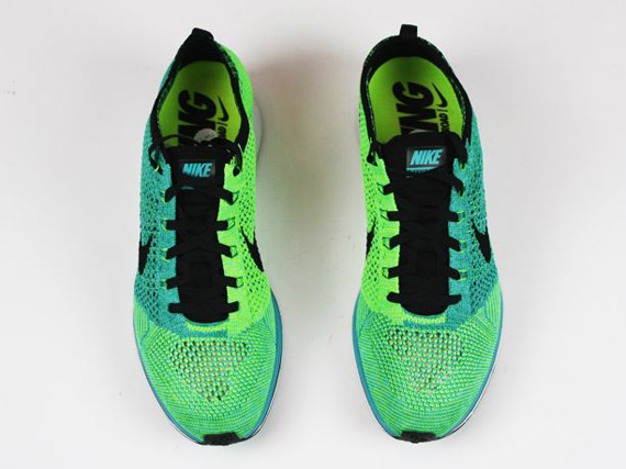 new product fbc9a 077ba wholesale nike flyknit trainer lime fish 225a8 f950e