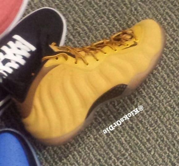 Nike Foamposite One 'Wheat' Sample - First Look