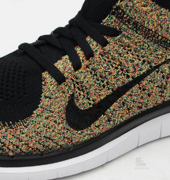 Nike Free 40 Flyknit MultiColor  Detailed Look  WearTesters