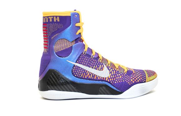 Nike Kobe 9 Elite Team - Detailed Look 1
