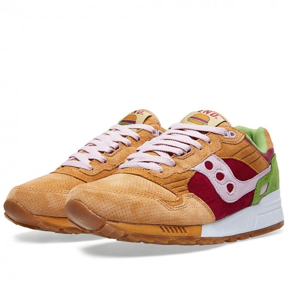 Saucony x END. Shadow 5000 'Burger' – Detailed Look 1
