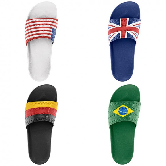 adidas Originals adilette 'Flag' Slides – Available Now 5