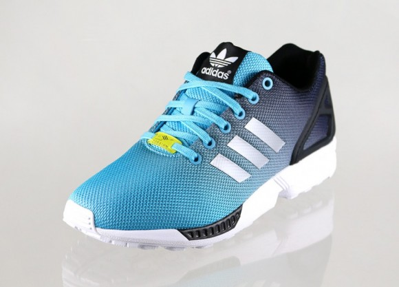 the latest 163cd 6cfb3 adidas ZX Flux Fade Pack (Light Aqua/Metallic Silver/Black ...