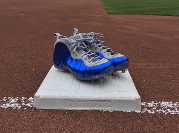 Custom Nike Foamposite Baseball Cleats - WearTesters