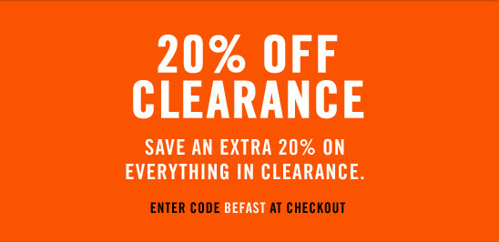 graphic regarding Nike Outlet Printable Coupon identified as General performance Offers: 20% off Nike Clearance - WearTesters