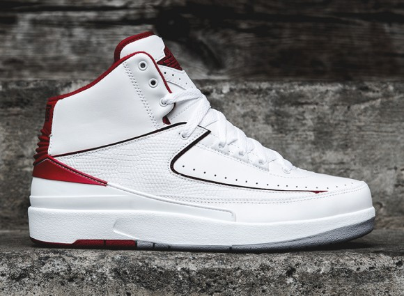 Air Jordan 2 Retro - White:Red - Release Info 1