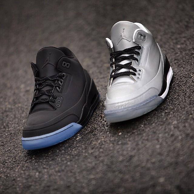 ... Air Jordan 5Lab3 'Black Reflective' - Detailed Look 5 ...