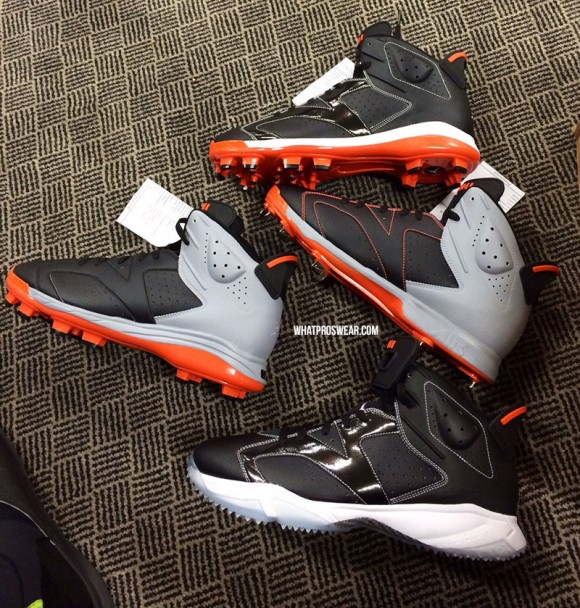 Air Jordan 6 Cleat & Turf Manny Machado PE's 1