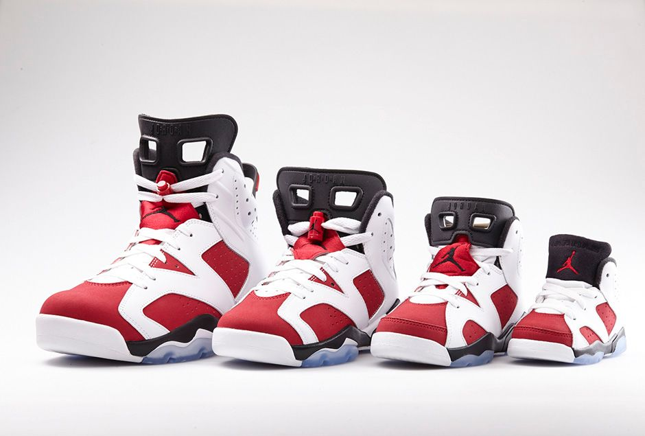 online store 7500e 49c7f Air Jordan 6 Retro  Carmine  - Official Look + Release ...