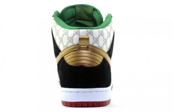 Black Sheep Skate Shop x Nike SB Dunk High 'Gucci' – Detailed Look 3