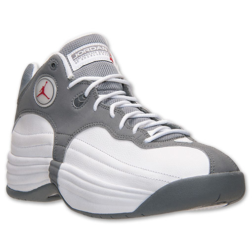 los angeles 463ad 3bfcb Jordan Jumpman Team 1White/ Gym Red - Cool Grey - Available ...