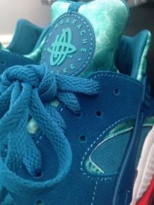 Nike Air Huarache Green Abyss: Turbo Green-7