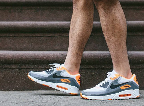 Nike Air Max 90 Laser White Blue · Fresh sneakers and