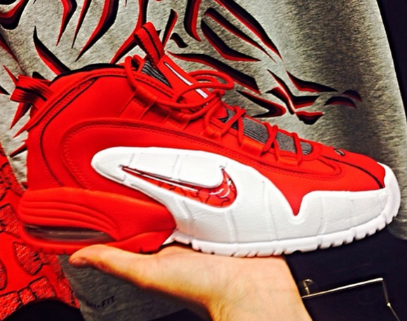 Nike Air Max Penny 1 Red/ White – First Look