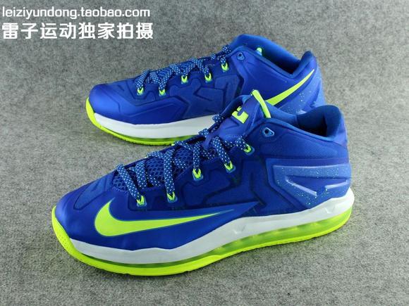 Nike LeBron 11 Low 'Sprite' - Detailed